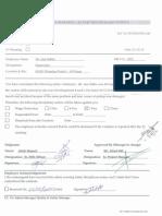 Safet Warning Letter
