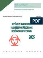 CPA Para Depositos Transitorios Para Residuos Peligrosos Biológico Infecciosos