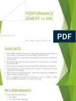 Sales Performance Management in Krc