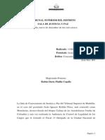 Sentencia de Justicia y Paz Contra Alias Monoleche - Diciembre 2014