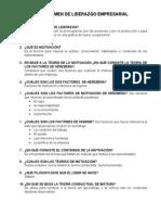Guia Para El Examen de Liderazgo Empresarial