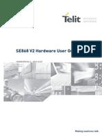Telit Jupiter SE868V2 Hardware User Guide r2