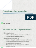 Non Destructive Inspection