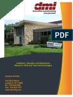 Shell & Tube Installation, Operation & Maintenance Manual