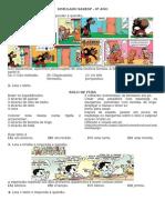 Simulado SARESP - Língua Portuguesa - 6º Ano