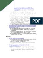 Wockhardt, IClinic, And Medana Notes