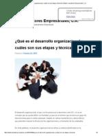 ¿Qué Es El Desarrollo Organizacional y Cuáles Son Sus Etapas y Técnicas_ _ Bastis Consultores Empresariales, C.A