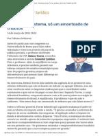 ConJur - Entrevista_ Heleno Torres, Professor de Direito Tributário Da USP