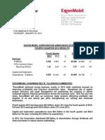 4Q13 Earnings Press Release