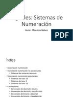 09 Sistemas de Numeracion