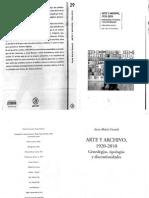 Arte y Archivo