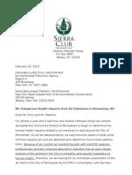 Sierra Club Report on Rensselear Air Conditions