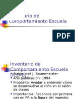 Inventario de Comportamiento Escuela.ppt