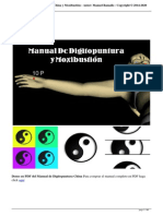 Demo de Digitopuntura China y Moxibustion - Manual en PDF