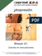 Digitopresion - Bloque Vi - Dolores en Articulaciones
