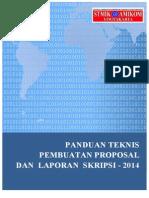 Panduan Teknis Pembuatan Proposal Dan Laporan Skripsi Ver 6.2 Komplit
