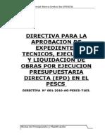 Directiva 01 Elab Exp Tec, Ejec Liquid