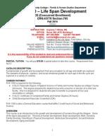 fhs 1500 syllabus fall 2014 - 2015