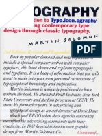 [Martin Solomon] the Art of Typography an Introdu