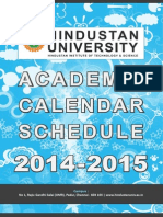 Academic Calendar 2014-15-15