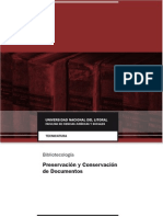 TB - Preservacion y Conservacion de Documentos 2014