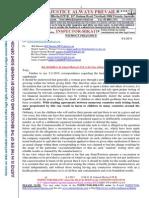 20150208-G. H. Schorel-Hlavka O.W.B. to Mr TONY ABBOTT PM-Re the Alleged Vaccine Fraud-etc