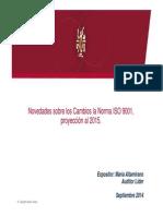1 Proyección de cambios ISO 9001 al 2015 Rev01.pdf