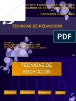 Tecnicas de Redacc