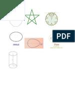 Figuras de Geometría