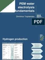 Water Electrolysis-Fundamentals Prof. Tsiplakides
