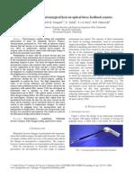Impact Electrosurgical Heat on Optical Force Feedback Sensors