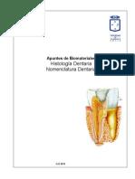 Apuntes Histologia y Nomenclatura Dentaria
