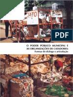 o Poder Publico Municipal e as Organizações Dos Catadores de Materiais Reciclaveis