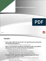 App Dev Platforms & Frameworks