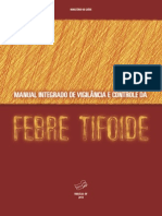 Manual Integrado Vigilancia Febre Tifoide