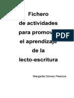 actividad lectoescritura