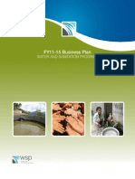 WSP FY11 15 Business Plan