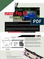 VW MKIV Hatch Pop Kit Tutorial