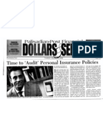 "Nicholas Kahrilas -- ""Time to 'Audit' Personal Insurance Policies"" (Palisades-Post, 01/15/09)"