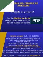 7. Procedimiento Ordinario.Termino probatorio.ppt