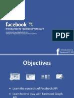 facebook python api
