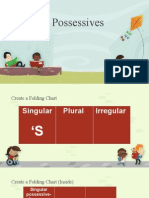 singular possessives a