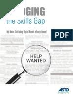Bridging the Skills Gap 2012