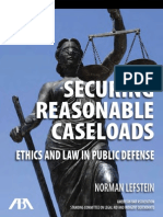 Securing Reasonable Caseloads