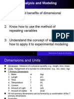 Dimensional Analysis(Reduced)