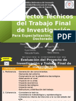 Manual para la presentación y elaboración del Trabajo Final de Investigación de los programas de PostGrado - ASPECTOS TÉCNICOS