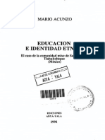 Educacion e Identidad Etnica (93)