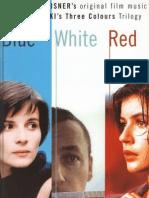 Zbigniew Preisner  Three Colours Trilogy Book