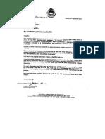 Contoh Surat Resmi Bahasa Inggris