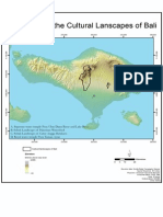 Index Map of the Cultural Landscape of Bali